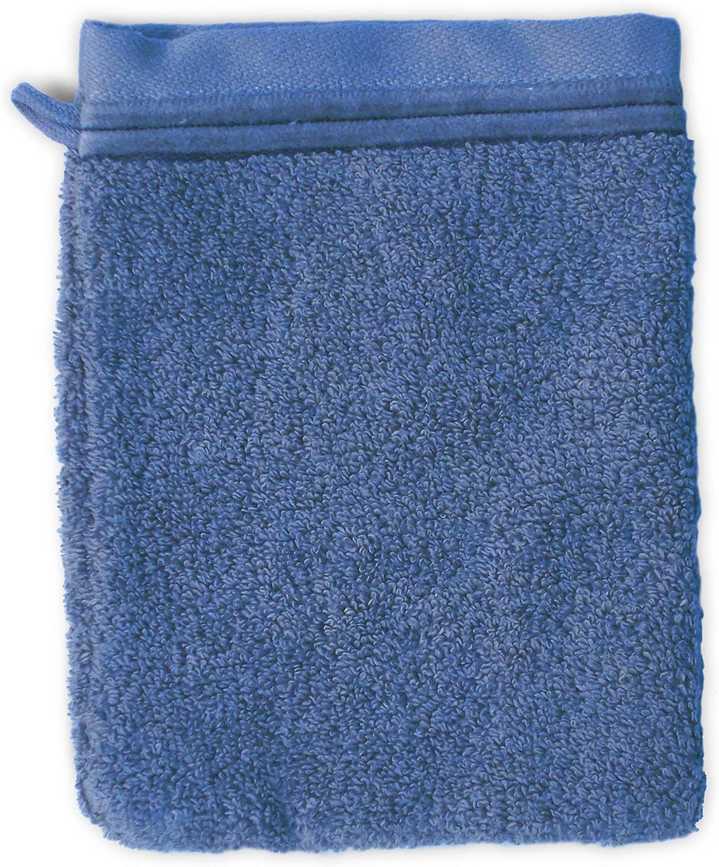 Linnea Gant de Toilette 16x21 cm Juliet Bleu Ciel 520 g//m2