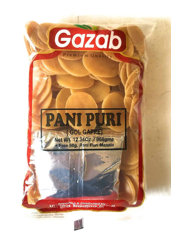 Gazab Panipuri (Golgappe) No frio (frito o microondas) con ...