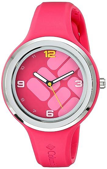 Columbia Womens CA017-610 Escapade Gem Analog Display Quartz Pink Watch