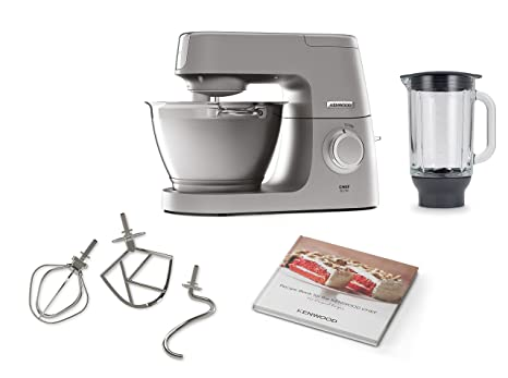 Kenwood Chef - Robot da cucina Chef Elite (4,6 l) argento: Amazon.it ...