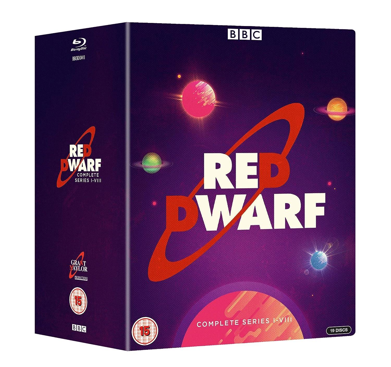 Red Dwarf Series 1 - 8 Boxset BD [Blu-ray] [2018]: Amazon co