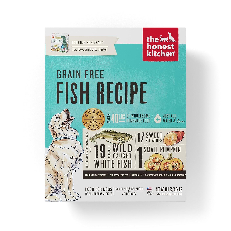The Honest Kitchen Human Grade Dehydrated Grain Free Fish Dog Food ...