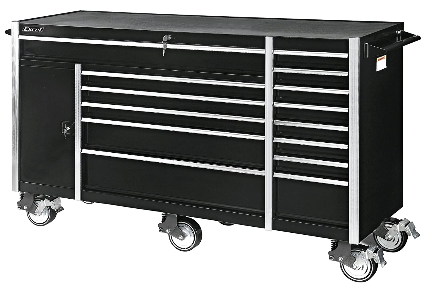 Amazoncom Excel TB7207X Roller Cabinet with Fourteen Drawers 72