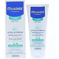 Mustela, Stelatopia, Crema Corporal Emoliente para Bebés y Niños con Piel Atópica o Eczema, Formulada con Oleodestilado…