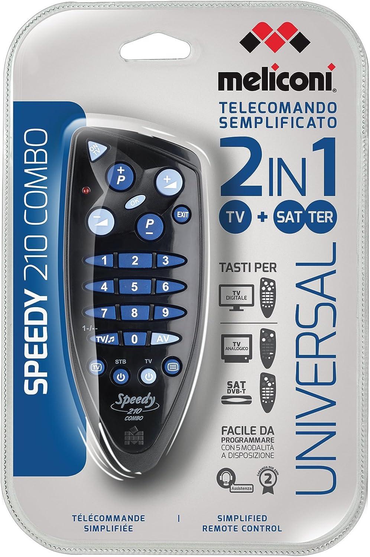 Meliconi Speedy 2 combo - Mando a distancia universal para TV: Amazon.es: Electrónica