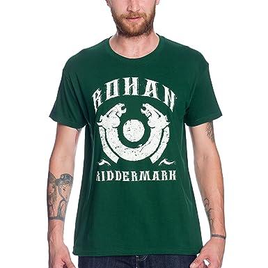 4e222319074f87 Herr der Ringe T-Shirt Rohan Riddermark von Elbenwald grün: Amazon.de:  Bekleidung