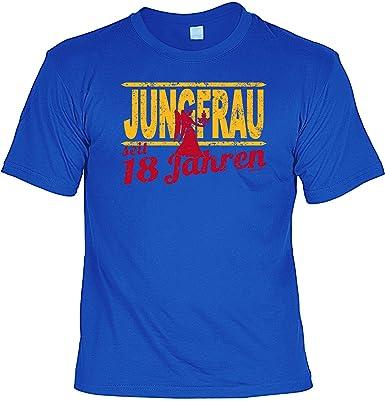 Cooles T Shirt Zum 18 Geburtstag Spruche 18 Jungfrau 18 Jahre