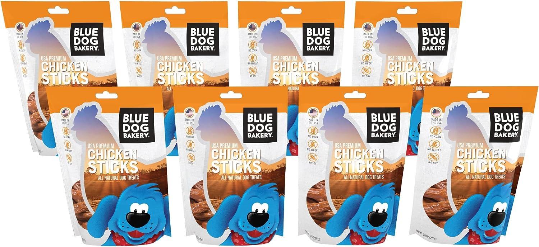 Blue Dog Bakery Natural Dog Treats, Grain Free, Chicken Sticks