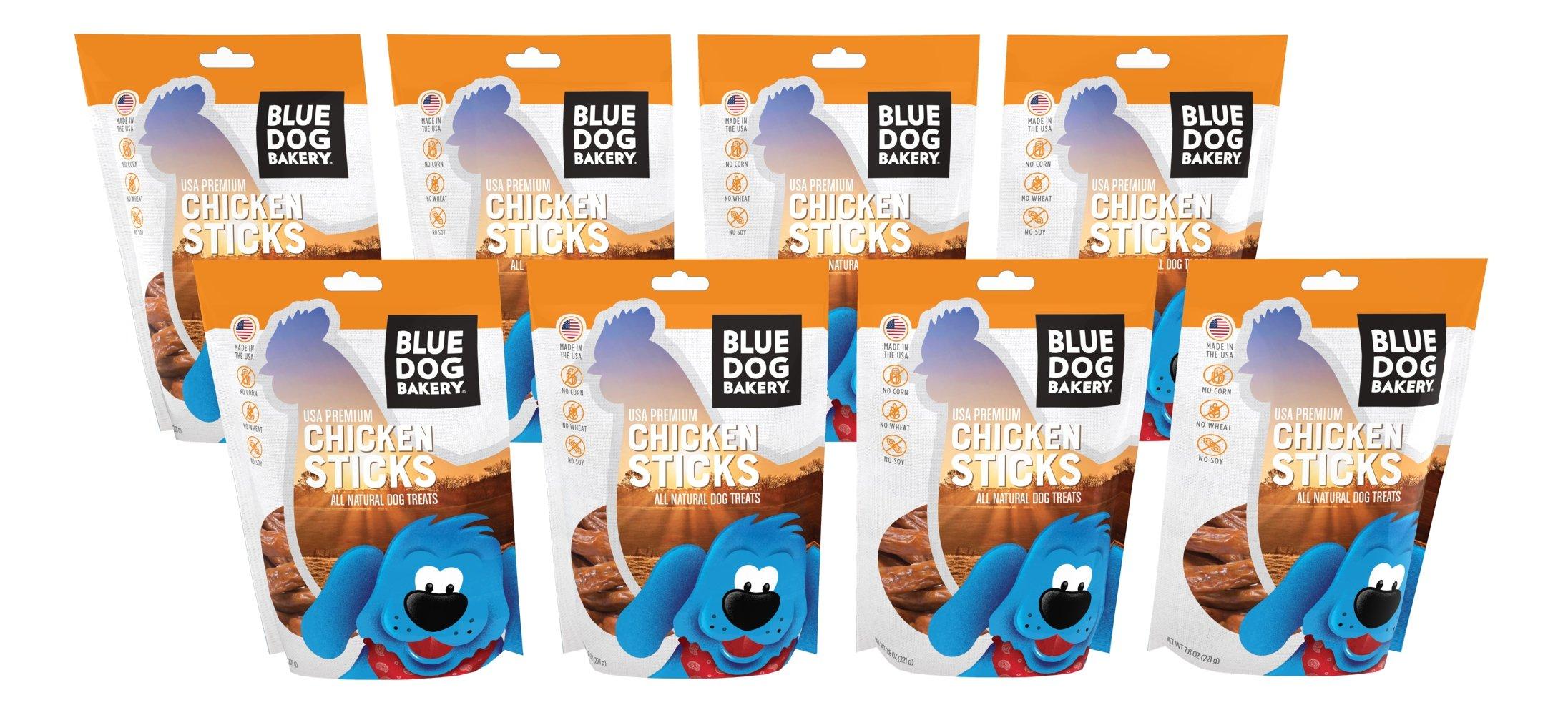 Blue Dog Bakery Natural Dog Treats, Grain Free, Chicken Sticks by Blue Dog Bakery