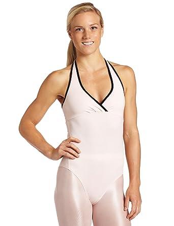 cc49fb2777 Amazon.com  Danskin Women s Nycb Halter Leotard  Clothing