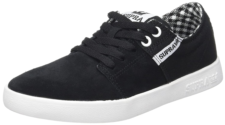 SupraStacks II - Zapatillas de casa Hombre 38 EU|Noir (Black/White-white)
