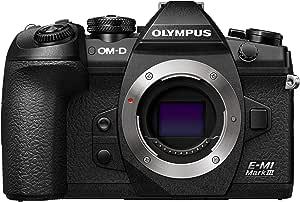 Olympus OM-D E-M1 Mark III Black Camera Body