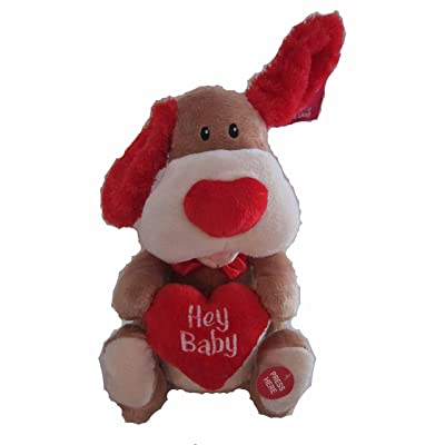 "Flapping Ears Animated Dog ""Hey Baby"" 11"": Toys & Games"