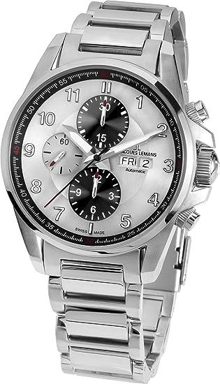 JACQUES LEMANS Reloj de Pulsera Smartwatch 1-1750E: Jacques Lemans ...