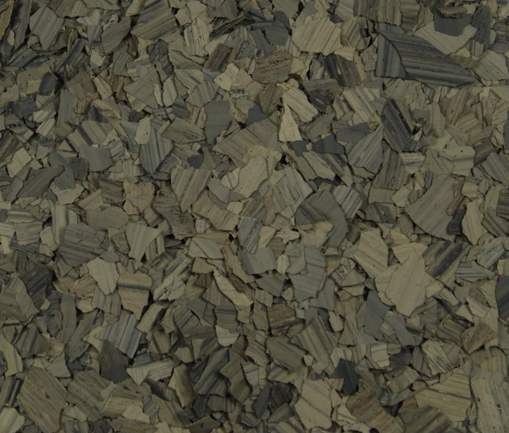 American Abrasive Supply, Vinyl Chip Blend Obsidian (Stone) 1/4'', VCPOBSIS