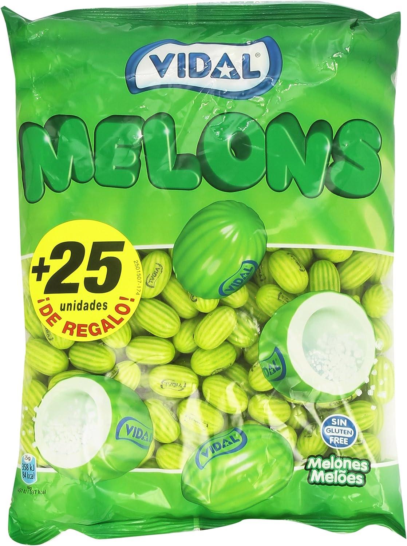 Vidal - Melons - Chicle relleno gregeado - 250 chicles