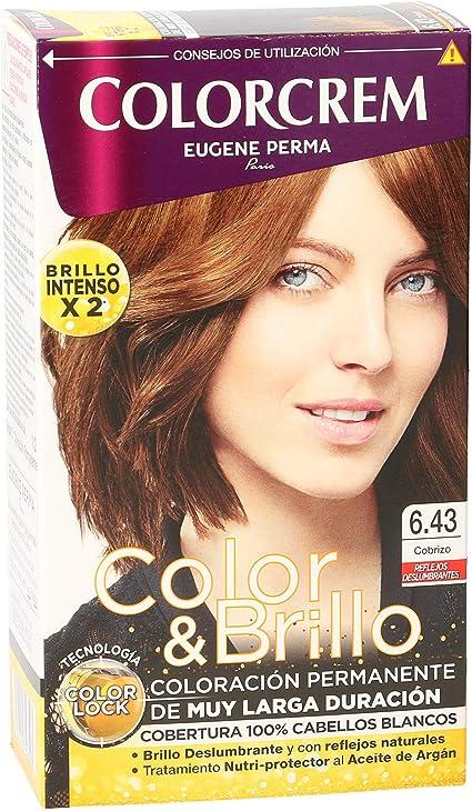 COLORCREM tinte Cobrizo Nº 6.43 caja 1 ud: Amazon.es: Salud y ...
