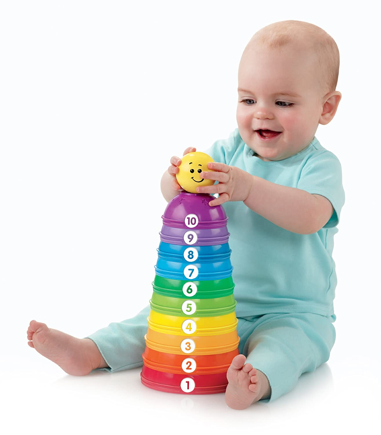 Fisher-Price Brilliant Basics.