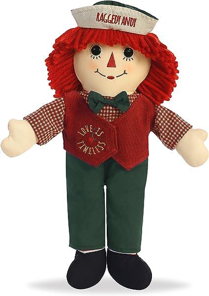 "Aurora World Raggedy Andy Classic Doll 16/"""