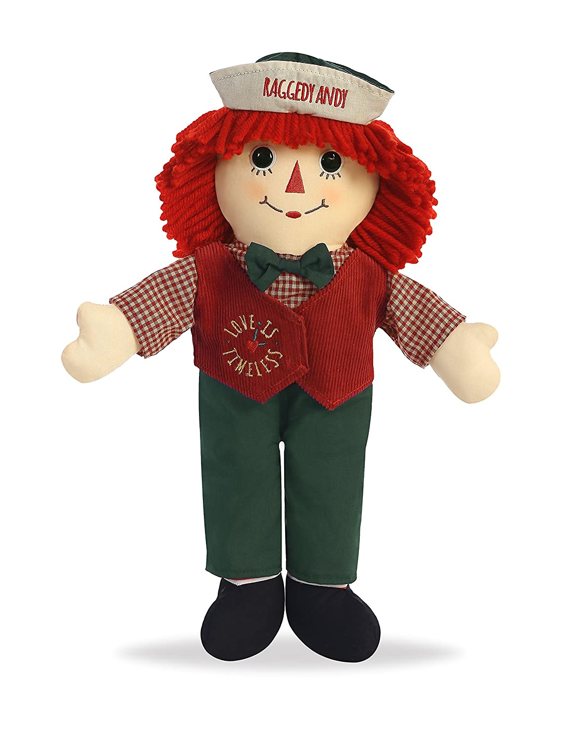 Aurora World LOVE IS TIMELESS RAGGEDY ANDY 16  (Large) Holiday Christmas 2016