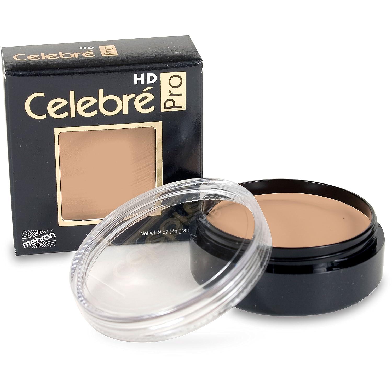 Mehron Makeup Celebre Pro-HD Cream Face & Body Makeup (0.9 oz) (MEDIUM 4) 201-ME4