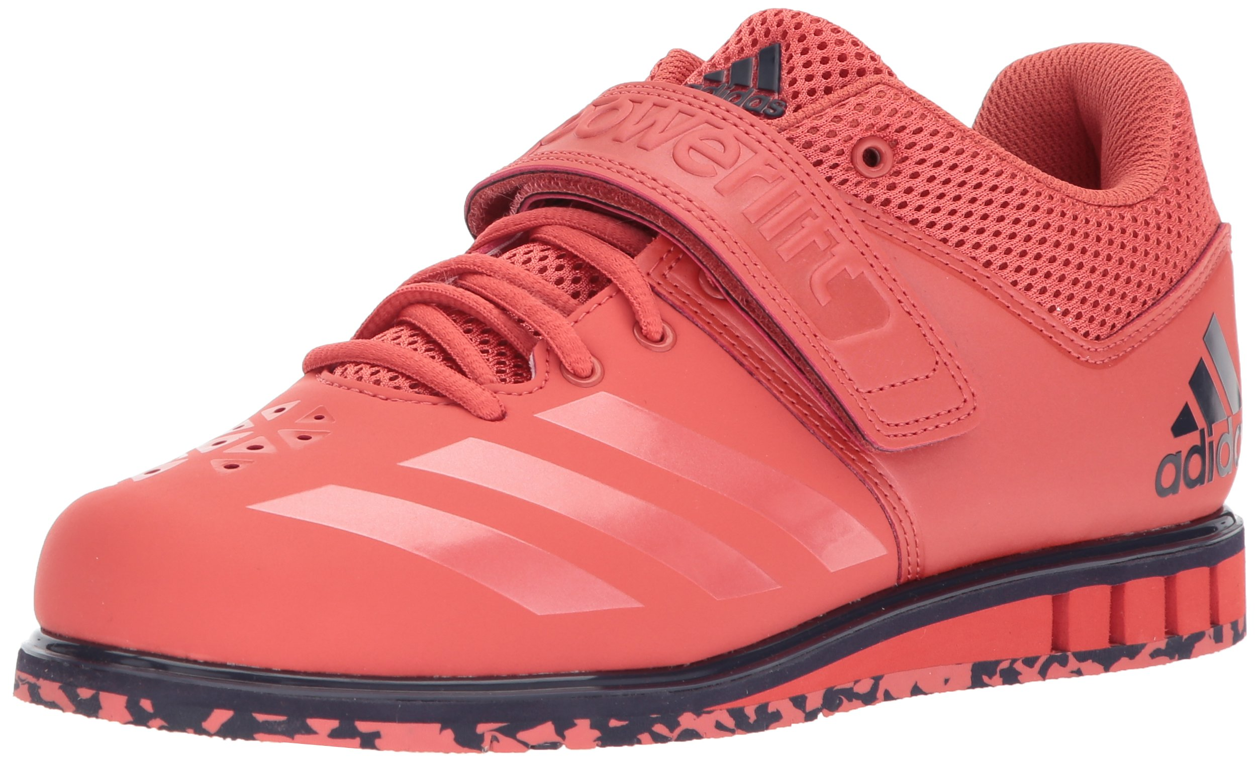 adidas Men's Powerlift.3.1 Cross Trainer, Trace Scarlet/Trace Scarlet/Noble Ink, 7 M US