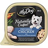 MY DOG Naturally Crafted Wet Dog Food Chicken 85g Tray, 14 Pack, Adult
