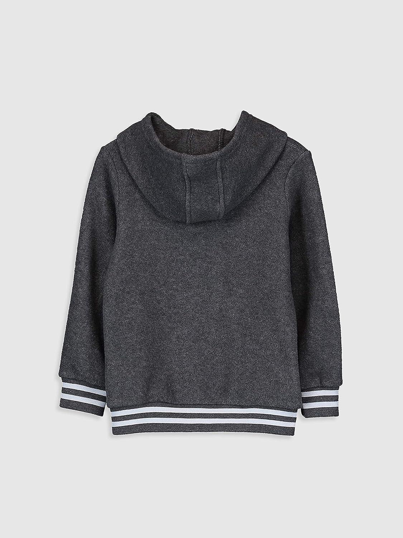 LC WAIKI Sweat-Shirt Polaire /à Capuche pour gar/çon
