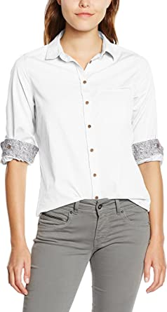 Pepe Jeans London Camisa Mujer Alexia Blanco XL: Amazon.es: Ropa y accesorios