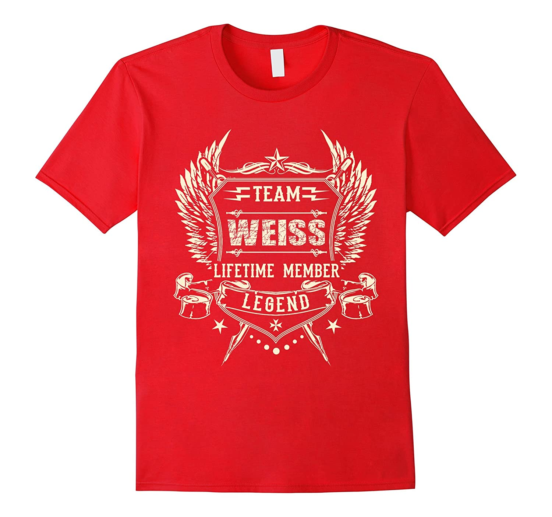 Team WEISS Family T-Shirt, Team WEISS lifetime member shirts-BN