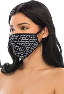 product image for Kurve 3 Packs Face Masks, Made in USA (One Size, 26-Geometric)