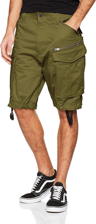 G-STAR RAW Rovic Zip Relaxed 1-Length Shorts Pantalones Cortos para Hombre