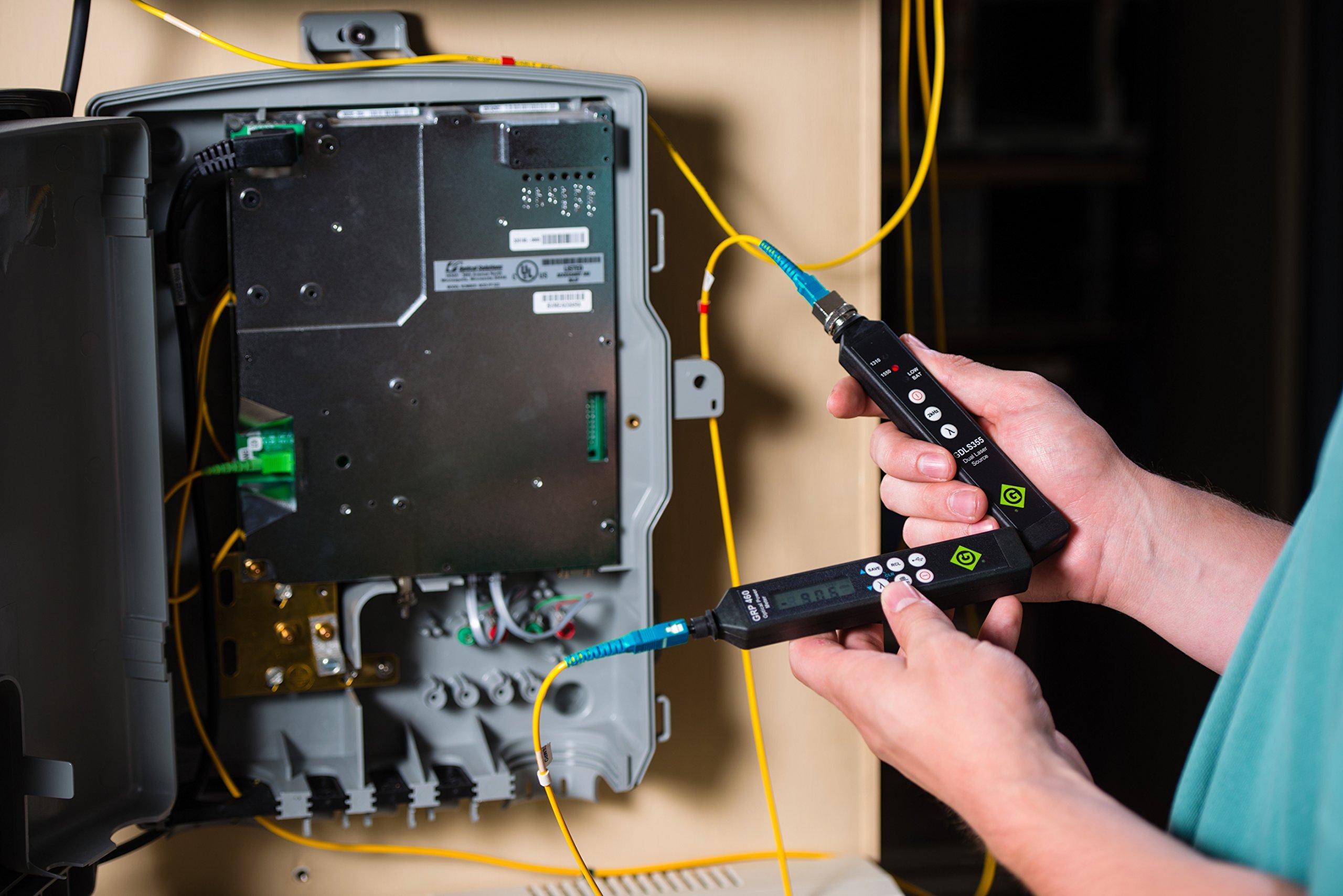 Greenlee GRP 460-04 Fiber Tools Optical Power Meter with InGaAs Filtered Detector by Greenlee (Image #4)