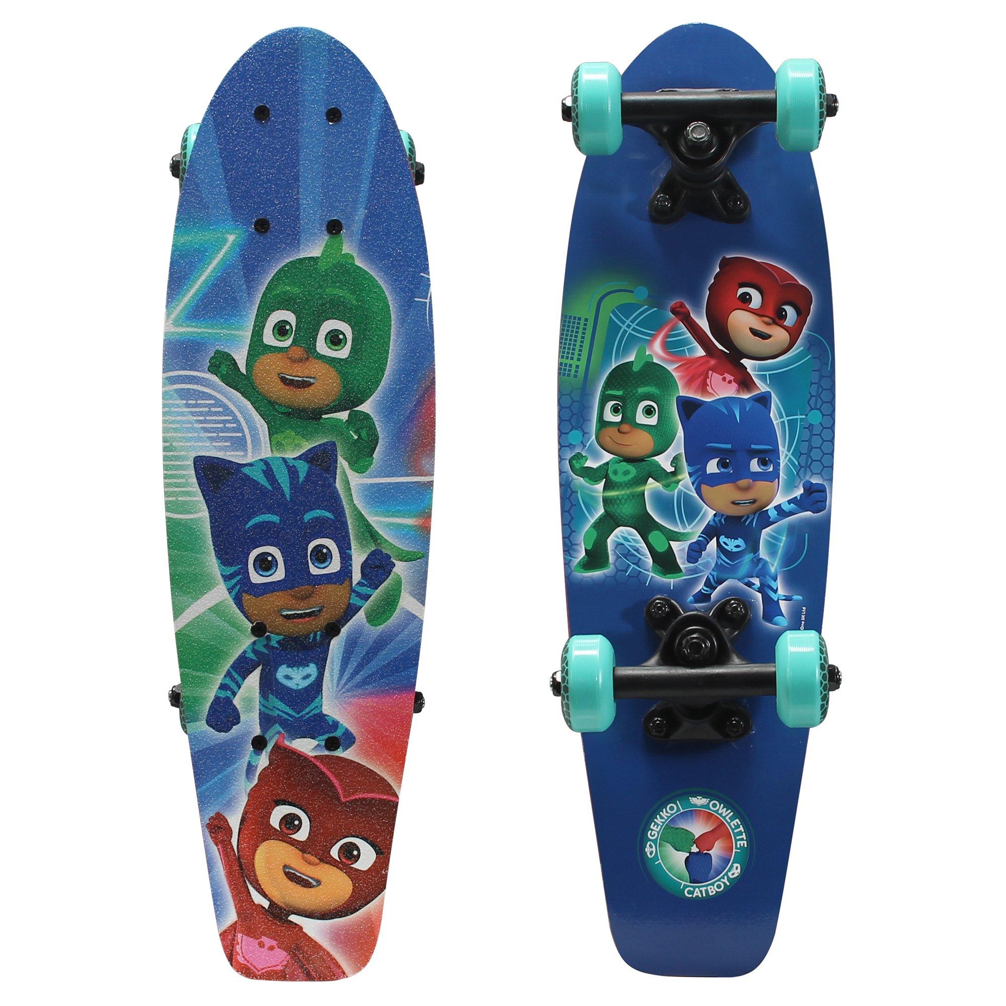 PlayWheels PJ Masks 21'' Wood Cruiser Skateboard, Power