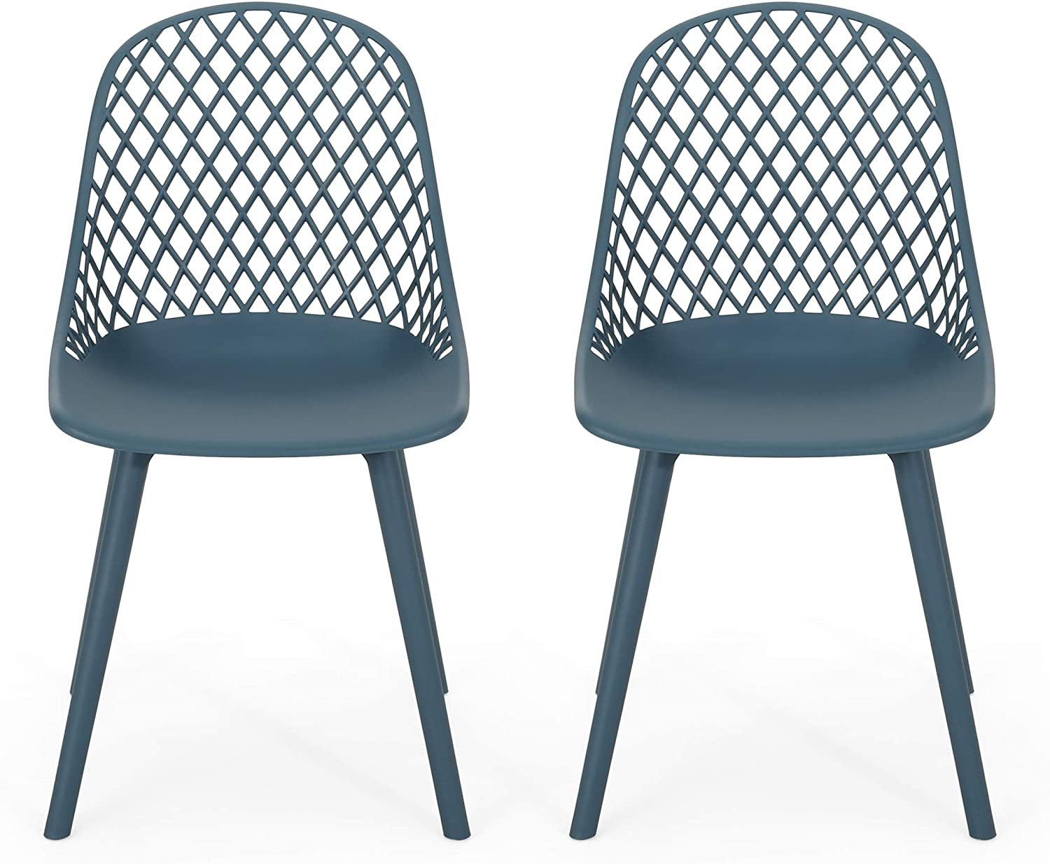 Christopher Knight Home 312477 Delora Outdoor Dining Chair (Set of 2), Green
