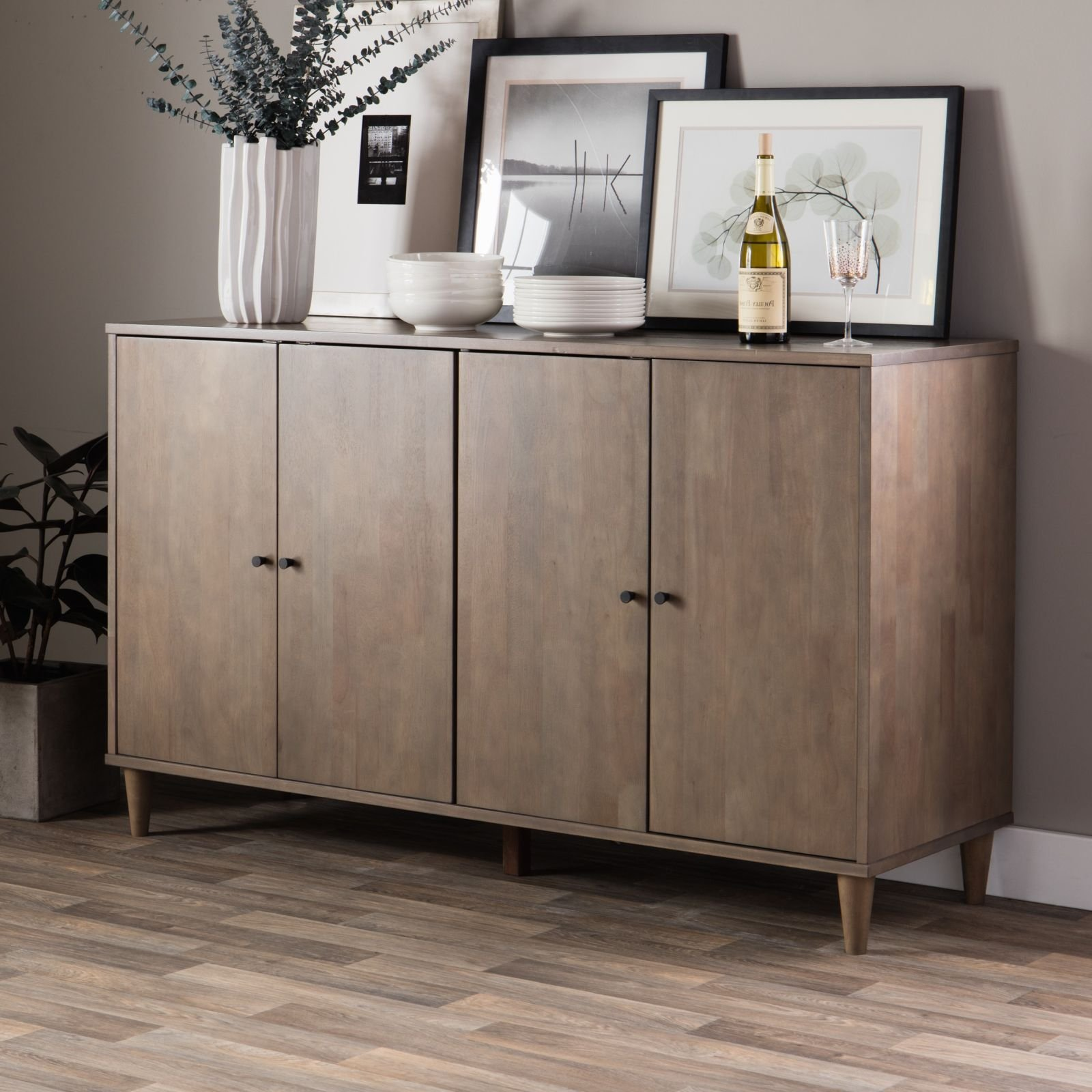 Modern Farmhouse Buffet Suitable For Kitchen And Dining ...