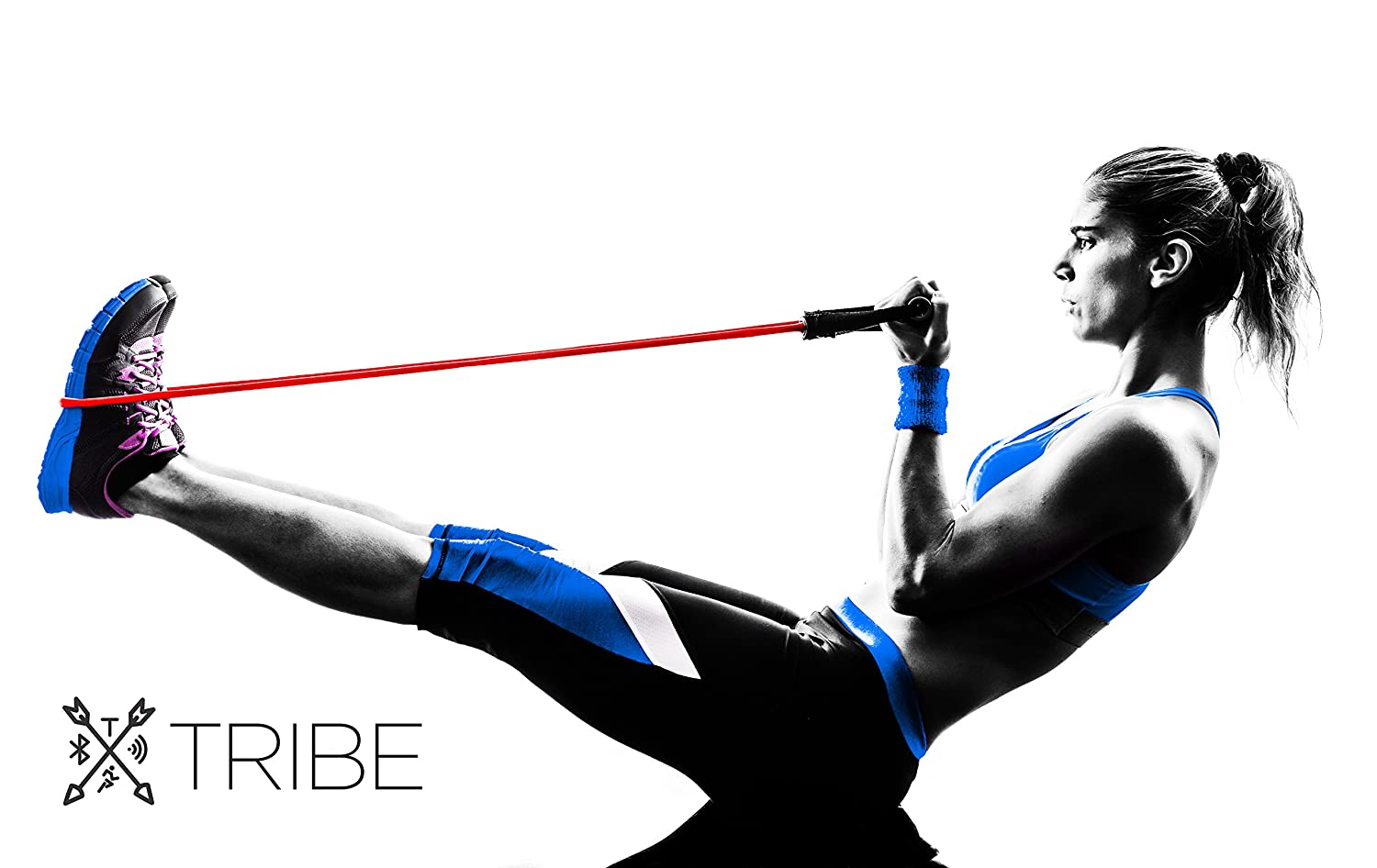 Tribe Resistance Band Set Exercise Bands Body Fitness Yoga