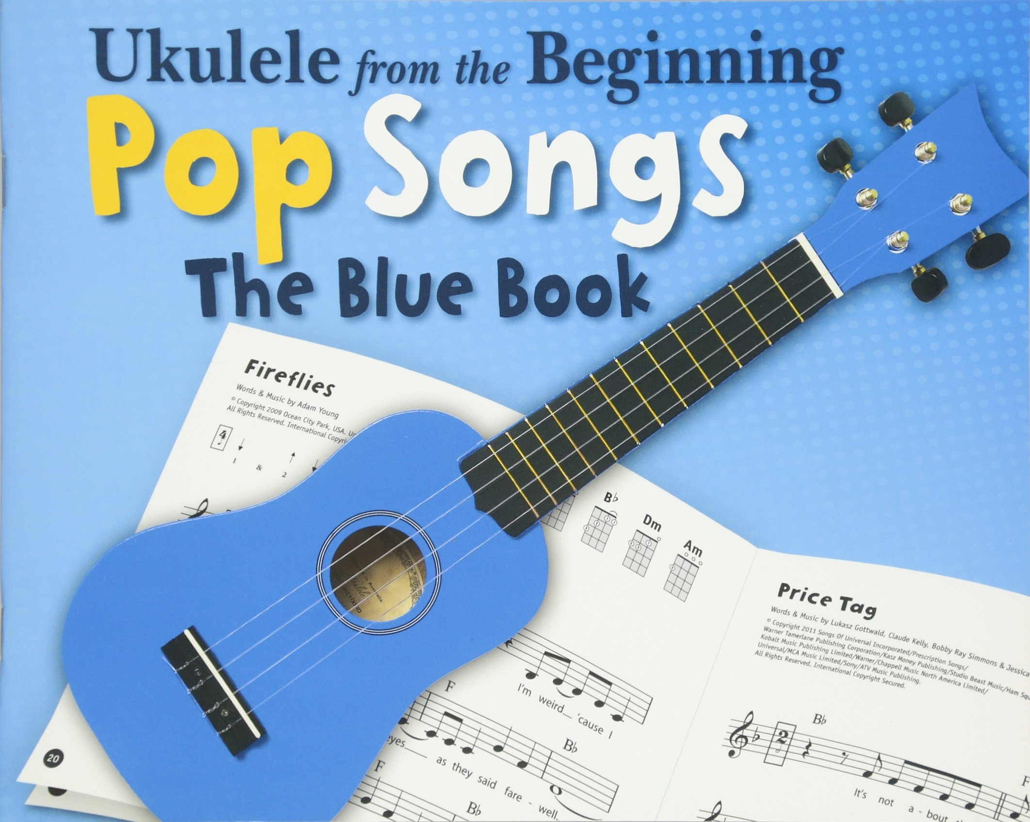 Amazon Ukulele From The Beginning Pop Songs The Blue Book