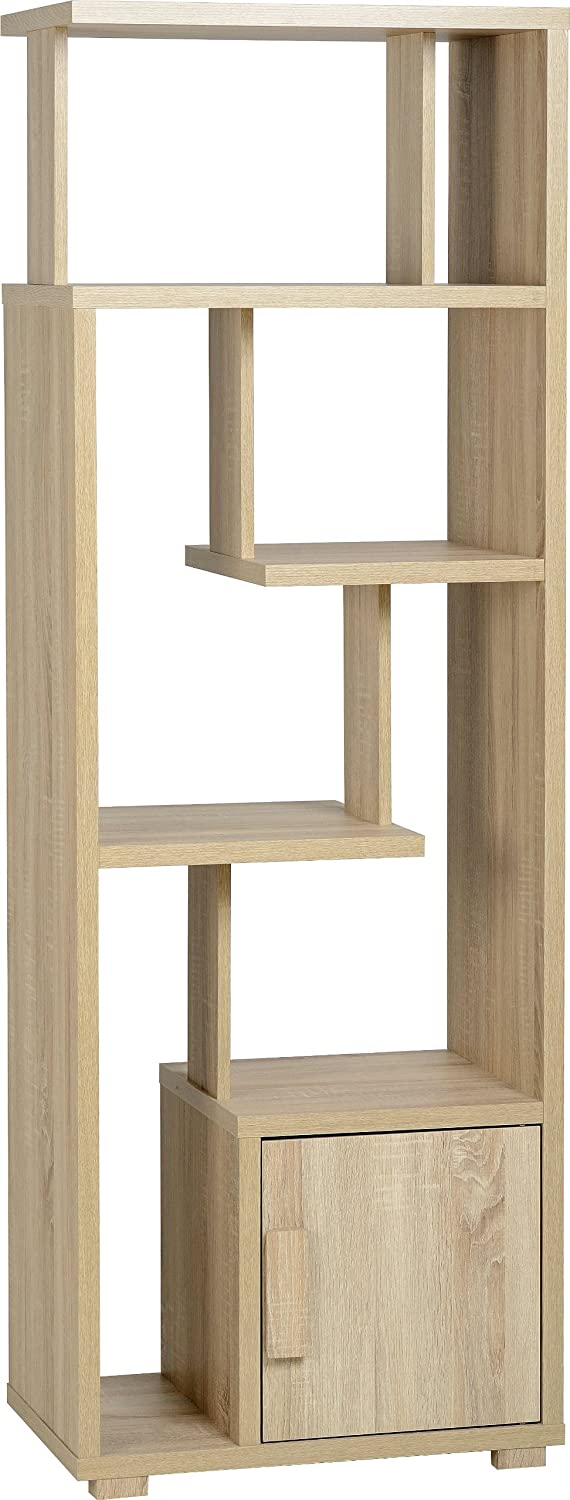 Seconique Cambourne 1 Door Display Unit - Sonoma Oak Effect 400-406-002