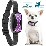 GoodBoy Humane Bark Collar for Small Dogs - Vibrating Anti Barking Device 2018 Design and Microchip Upgrade for Better Bark Detection - Rechargeable & Waterproof