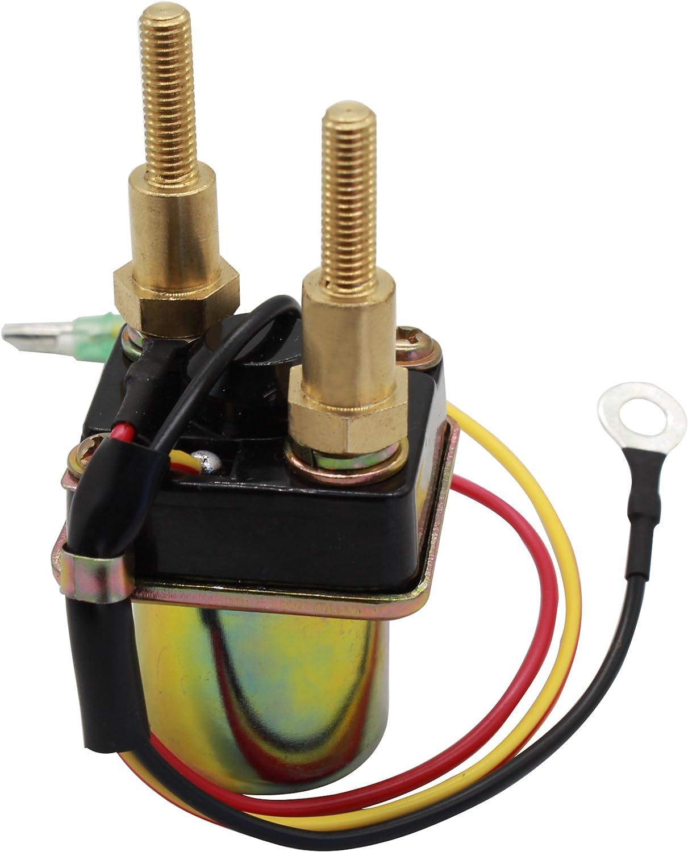 Cyleto Starter Relais Magnetspule f/ür KAWASAKI JET SKI JS650 650 650 SX 1992 1993 JS750 750 SX 1992 1993 1994 1995 PWC