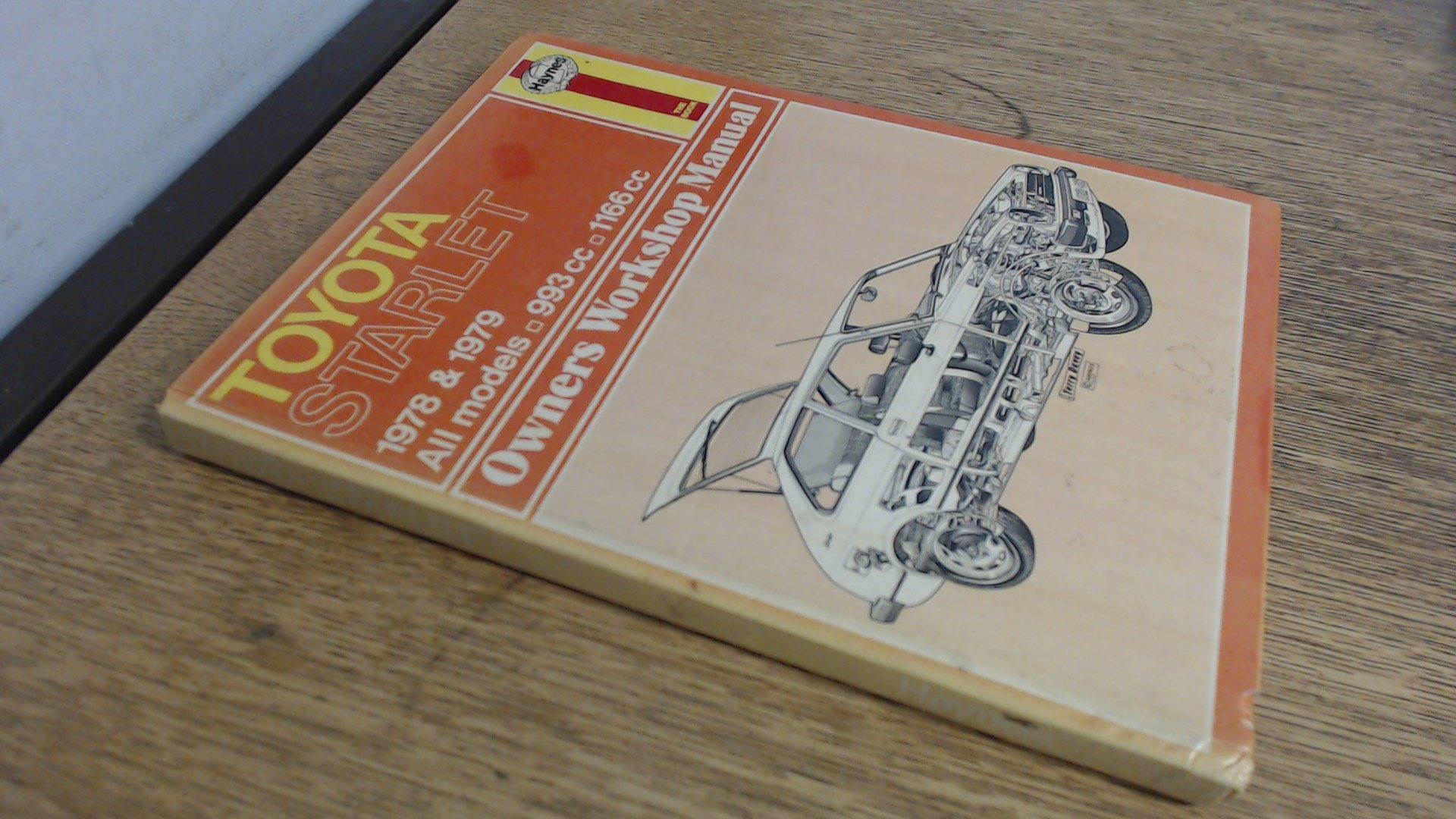 Toyota Starlet owners workshop manual (Haynes owners workshop manuals): J.  H Haynes: 9780856964626: Amazon.com: Books