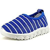 Z-T FUTURE Kids Boys Girls Breathable Mesh Sneakers Toddler Slip-on Beach Water Shoes Toddler/Little Kid