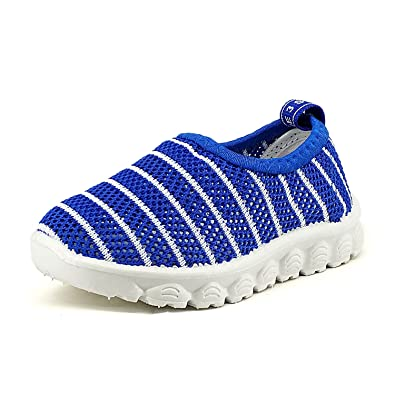 b01fd2aceaa3a9 Z-T FUTURE Kids Boys Girls Breathable Mesh Sneakers Toddler Slip-on Beach  Water Shoes Toddler