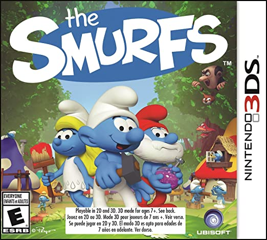 Amazon Com The Smurfs Nintendo 3ds Standard Edition Ubisoft Video Games