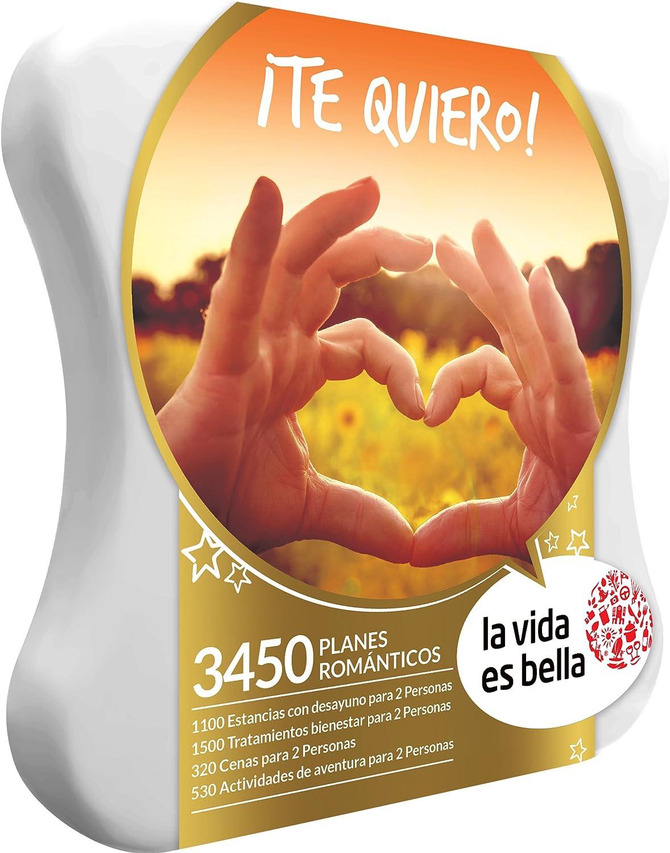 Smartbox LA Vida ES Bella - Caja Regalo - ¡TE Quiero! - 3450 Planes románticos: Amazon.es: Deportes y aire libre