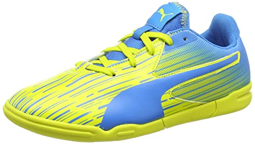 Puma Meteor Sala LT Jr - Zapatillas de Fútbol de Material sintético Niños^Niñas: Amazon.es: Zapatos y complementos
