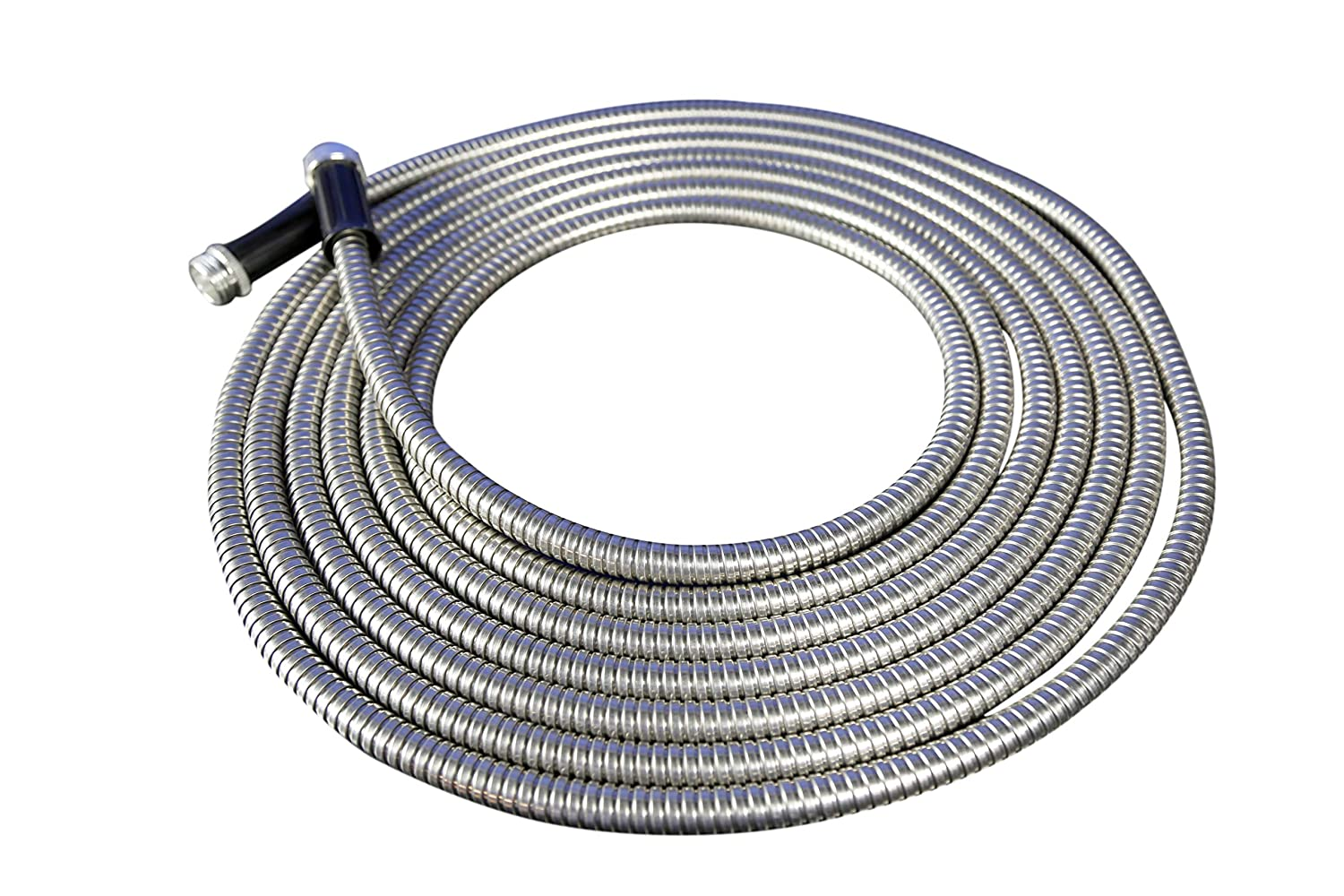 Forever Steel Hose 25 304 Stainless Steel Garden Hose - As Seen On TV - Lightweight, Kink-Free, and Stronger Than Ever, Durable and Easy to Use