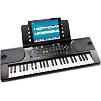 RockJam (RJ549) 49-Key Portable Electric Keyboard Piano With Power Supply, Sheet Music Stand and Simply Piano App