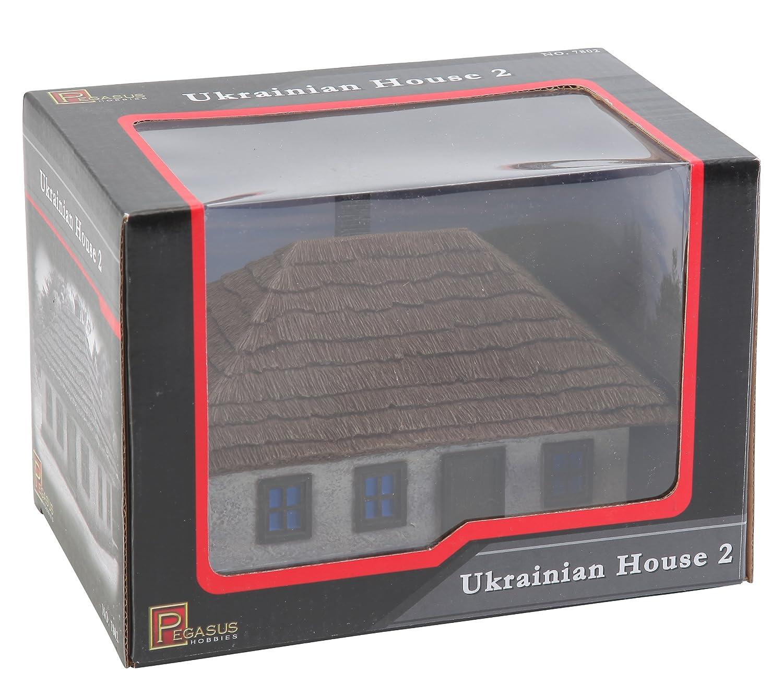 Kleines Ukrainisches Haus Figuren Pegasus PG7802-1//72 WW II